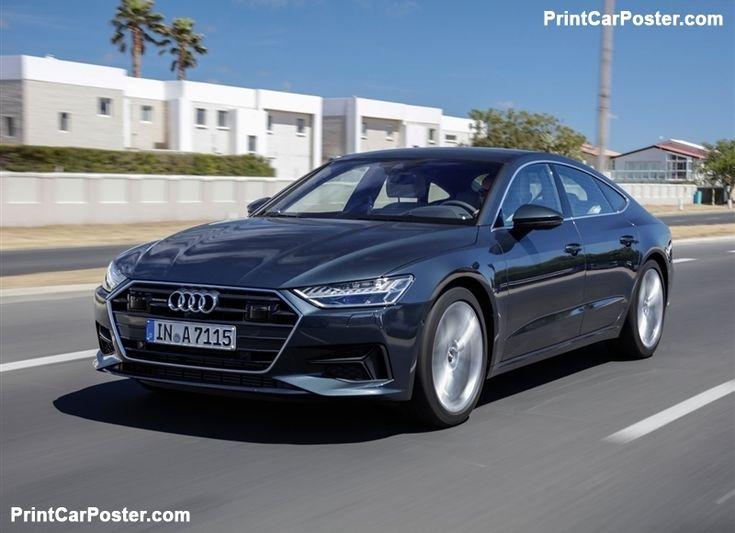 Audi A7 Sportback 2018 poster, #poster, #mousepad, #tshirt, #printcarposter
