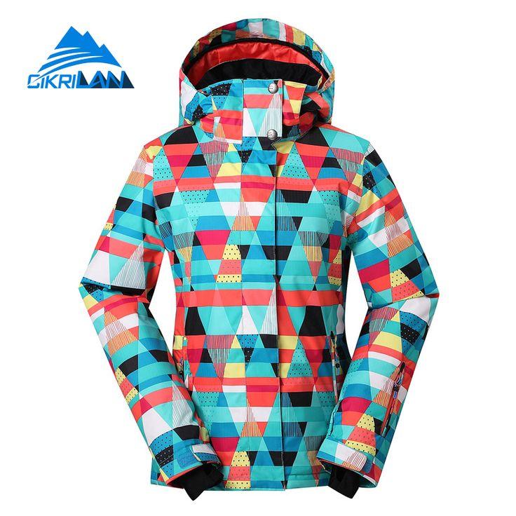 Winter Snowboarding Waterpoof Skiing Jacket Women Outdoor Sport Windstopper Jaqueta Woman Snow Coat Warm Chaquetas Mujer #Affiliate