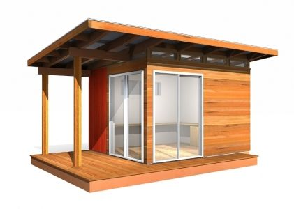 Prefab Cabin Kit: 10' x 12' Coastal - Prefab Cabin Kits shipped direct