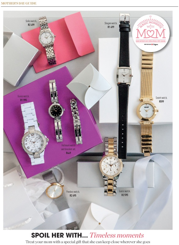 Spoil her with timeless moments for Mother's Day