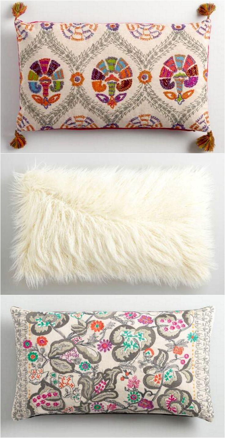 Shop Gorgeous Boho Pillows at World Market