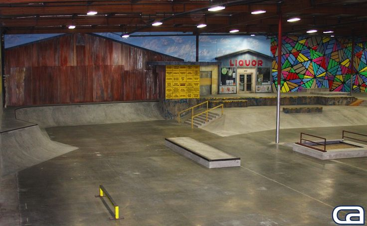 The Berrics 2.0 - California Skateparks