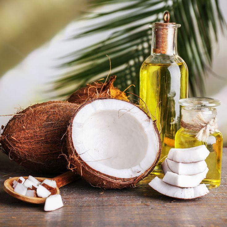 DIY-Rezept für selbst gemachte Kokosöl Creme gegen Schuppenflechte aus nur 4 Zutaten - versorgt die Haut mit Feuchtigkeit und hilft gegen Jucken ...