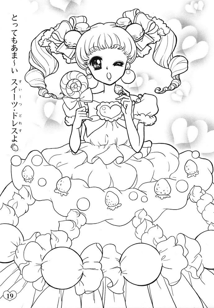 443 best kawaii coloring pages images on Pinterest | Coloring books ...