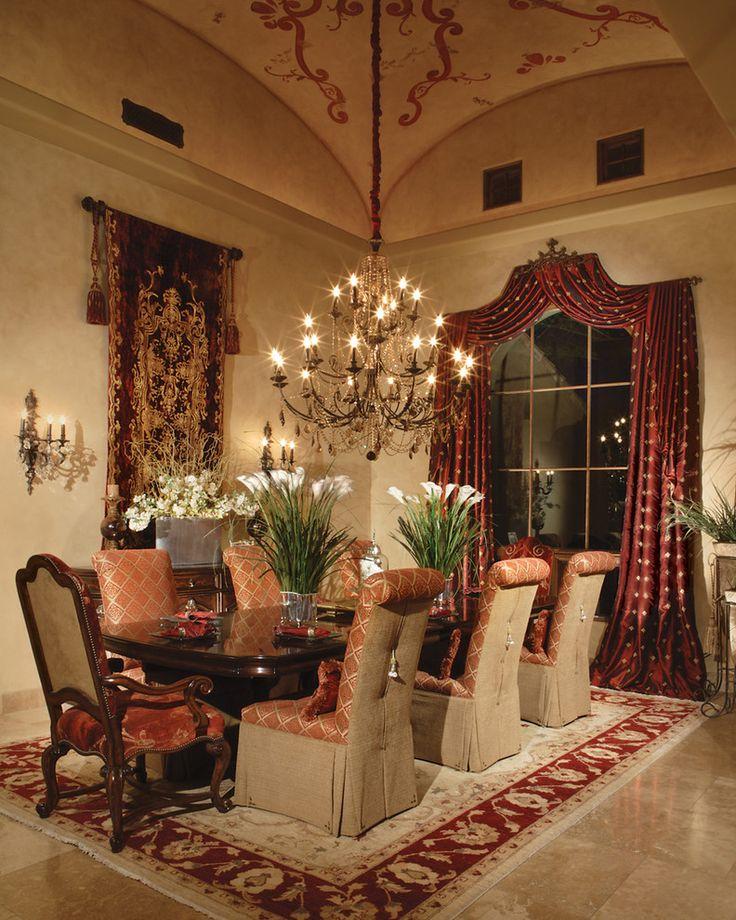 35 Luxury Dining Room Design Ideas: 15 Magnificent Mediterranean Dining Room Designs Made Of
