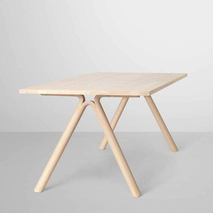 Staffan Holm; Ash 'Split' Table for Muuto, 2012.