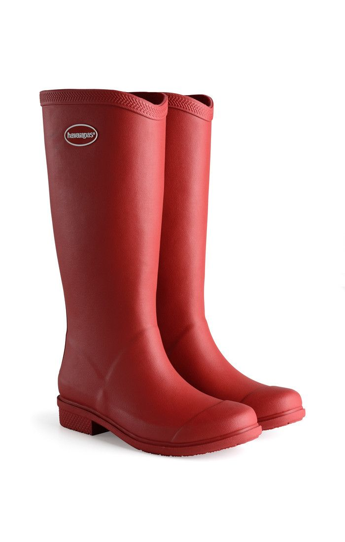 6f8ec1439 Havaianas Galochas Hi Matte Rain Boot Ruby Red Price From  94