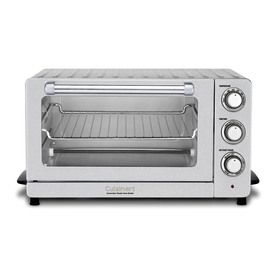Cuisinart 6-Slice White Convection Toaster Oven With Auto Shut-Off Tob