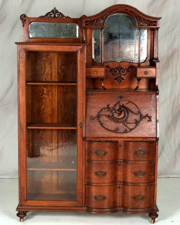 80 Best Images About Antique Quarter Sawn Oak Furniture On