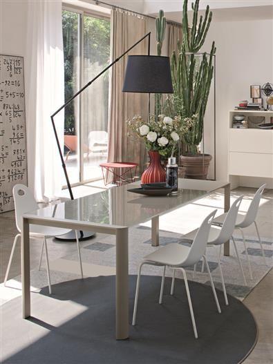 R6 table + Patatina chair