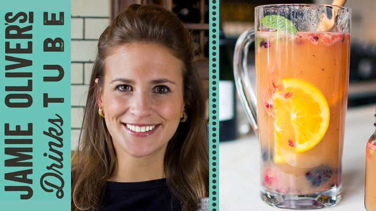 This is Amelia's spin on the classic red wine sangria, guaranteed to impress…
