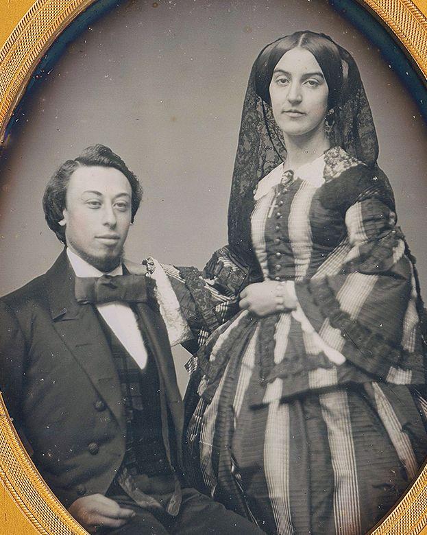 Civil War era couple photo