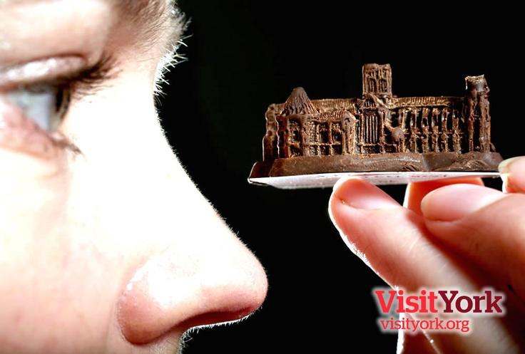 A chocolate York Minster, York, UK