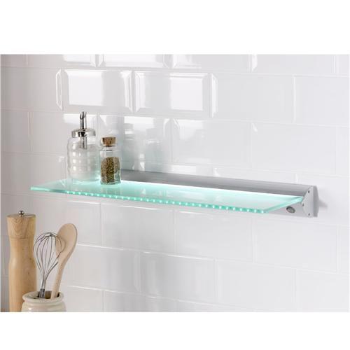 1000 images about led shelf lighting on pinterest shelf lights floating glass shelves and. Black Bedroom Furniture Sets. Home Design Ideas