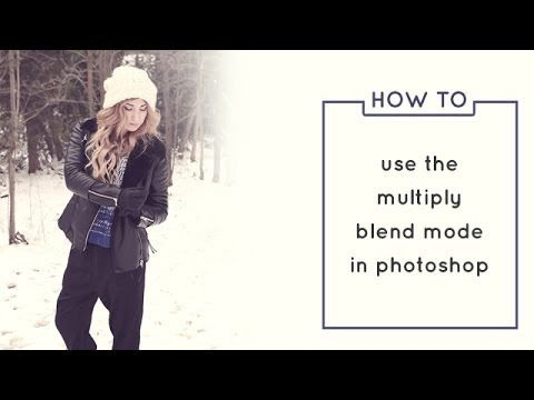 Introduction to the Multiply Blend Mode (Photoshop Tutorial)  to easily and quickly remove backgrounds