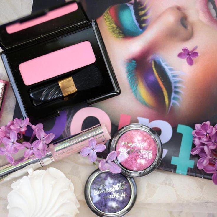 Хотите быть летней и нежной? Выбирайте продукты #cinecittamakeup . На фото румяна N 01, запеченные тени с бриллиантовым эффектом N 37, 41, блеск для губ N 21. �������� #cinecitta #eyeshadow #blush #lipgloss #makeup  #visage #визажистмосква #визажист #beautyblogger http://ameritrustshield.com/ipost/1547007493788157914/?code=BV4Ex6EHEfa
