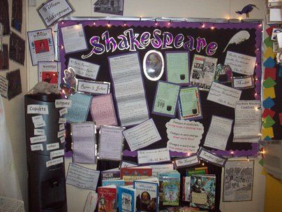Shakespeare Display, class display, play, theater, Shakespeare, William Shakespeare, writer, tragedies, Early Years (EYFS), KS1 & KS2 Primary Resources