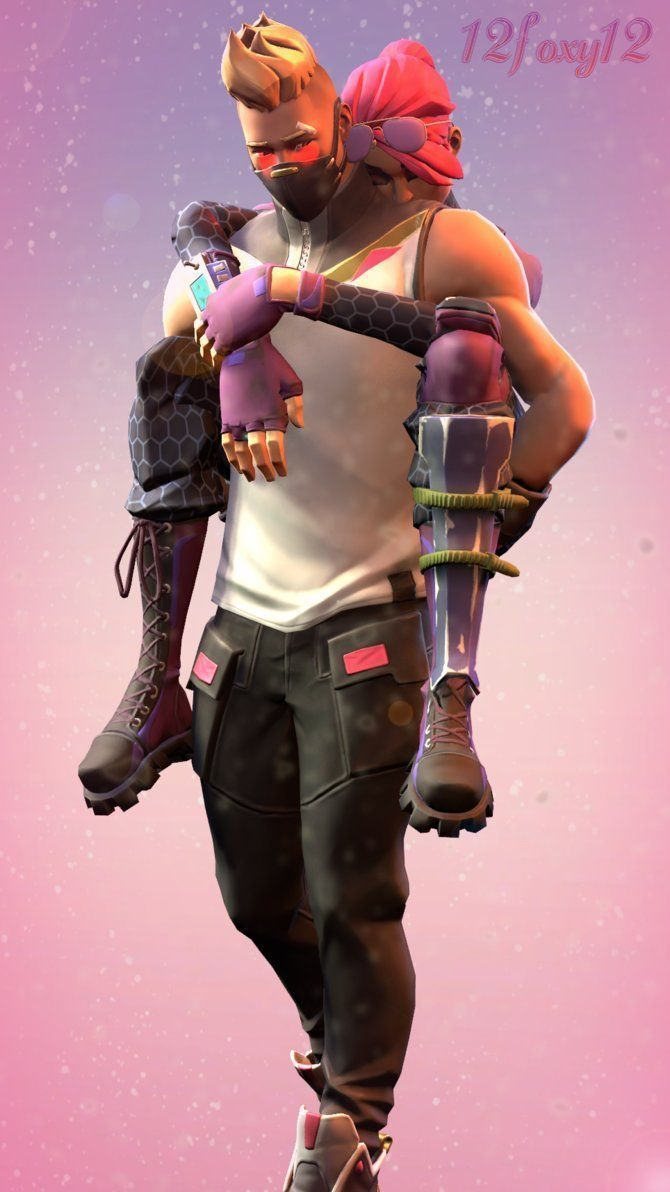 Gaming PinWire: (SFM/Fortnite) Carrying mah little sleepy head by 12foxy12-Offic…