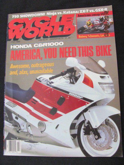 28 best gsxf katana images on pinterest katana motorbikes and biking cycle world july 1989 honda cbr1000 suzuki katana 750 gsx r750 kawasaki ninja from 85 fandeluxe Gallery