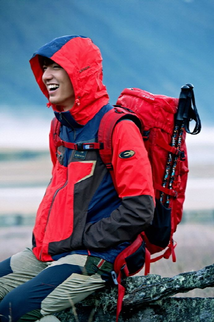 Lee Min Ho Can't Help But Smile For EIDER's SS2014 Ad Campaign | Couch Kimchi