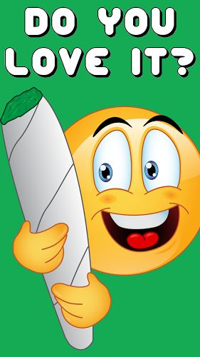 Weed Emojis by Emoji World ™ 1.2 APK appsto.re/us/5pSCab.i