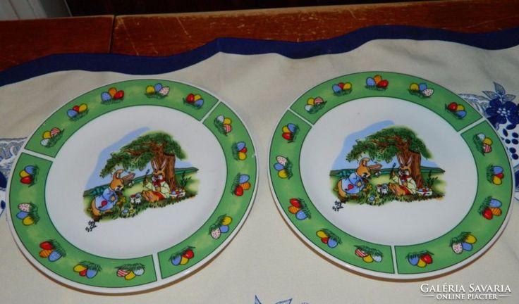 Götz  - húsvéti nyuszi mintával - mesemintás tányér