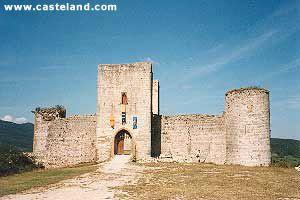 Photos du Chateau de Puivert Cathares Languedoc Aude médiévaux chateaux forts castle