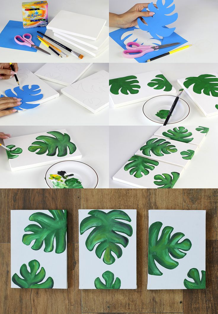 DIY: quadros decorativos                                                                                                                                                                                 Mais