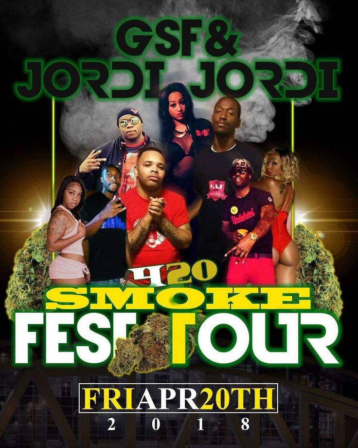 Come party with us April 20th 2018 #smokefesttour2018 #gsf #jordijordi  6340 Highway 85 Riverdale GA 30274  It's my birthday weekend so you already know is going down. I want all the #smokers #hustlas #boss  and #badies coming out to celebrate with us on 420.  @djbonsu @djpharris @atltop20 @djstandout @djclarkkent @djdimepiece @djfunkyatl @djkrisstyle @iamdjspeedy @hiphopworldpr @hiphopweeklymagazine @hiphopblingshop @hiphopwatchblog @rapobsessed_ @afrochiccouture @radiomaha @djholliwood…