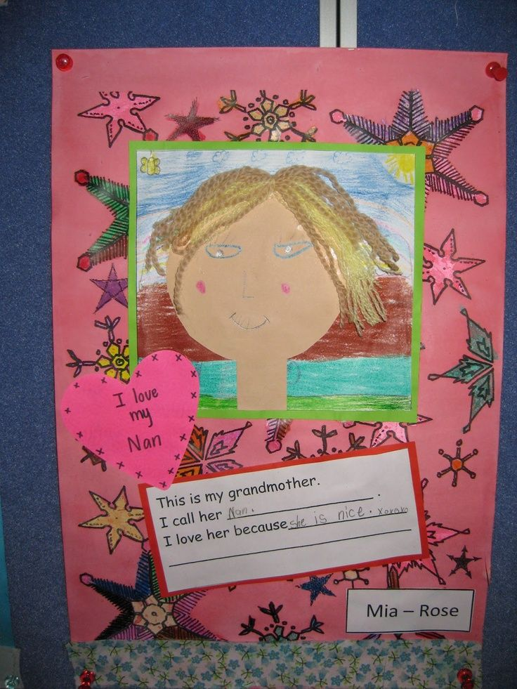 grandparents day projects | grandparents day art ...