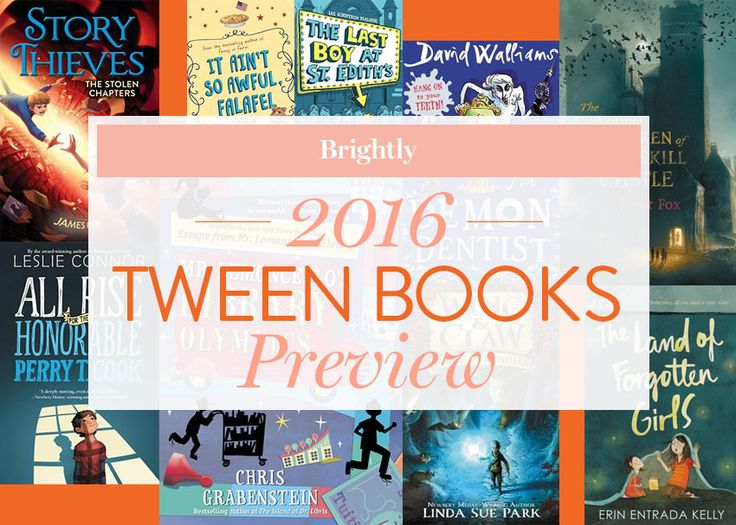 Books for middle grade readers to look for in 2016; subsequent pages show picture books and young adult novel recommendations.
