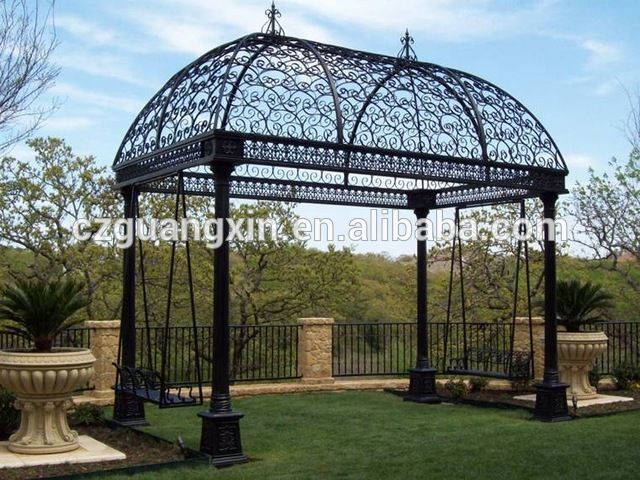 Source Metal Gazebos for Sale, Wrought Iron Gazebo, Wrought Iron Garden Gazebos on m.alibaba.com