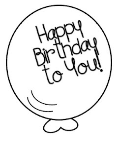 Print this out, laminate, stick to a stick, add a base and use to place on student's table on the morning of their birthday with a gift and a party hat :)