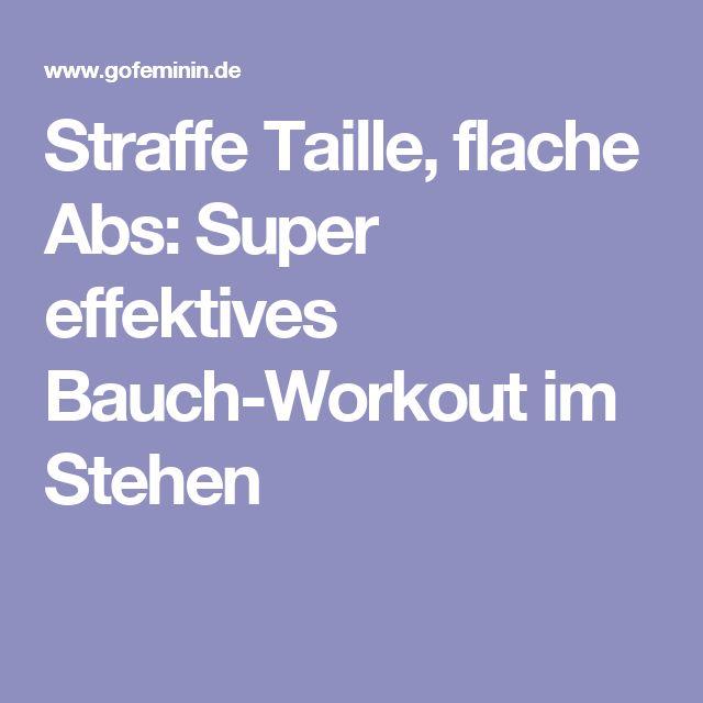 Straffe Taille, flache Abs: Super effektives Bauch-Workout im Stehen