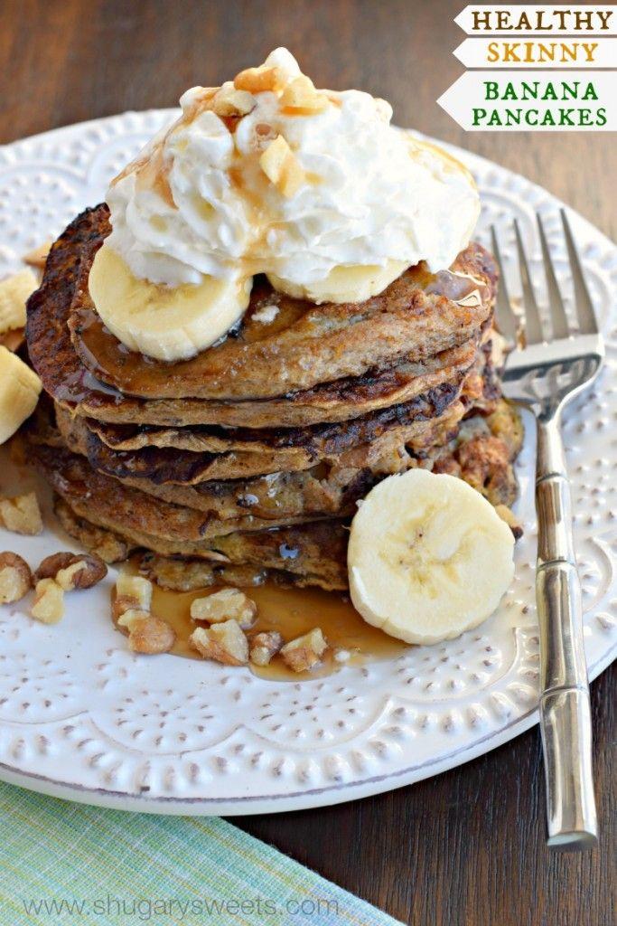The 25+ best Healthy banana pancakes ideas on Pinterest ...