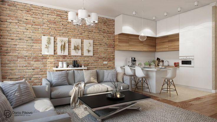 Дизайн квартиры - заказать проект | Студия Пиковой Дарьи