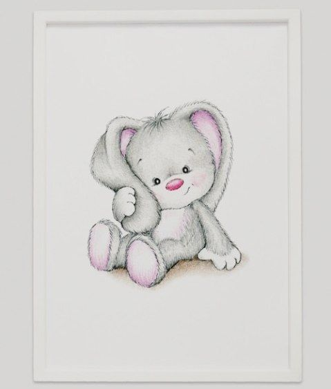 Nyhet! Søte nye A3 rammer er nå i butikk #nyhet #dinbabyshower #nettbutikk #detlilleekstra #babyshower #dåp #navnefest #fødsel #gravid #gave #barnerom #dekorasjon #kanin #bunny www.dinbabyshower.no