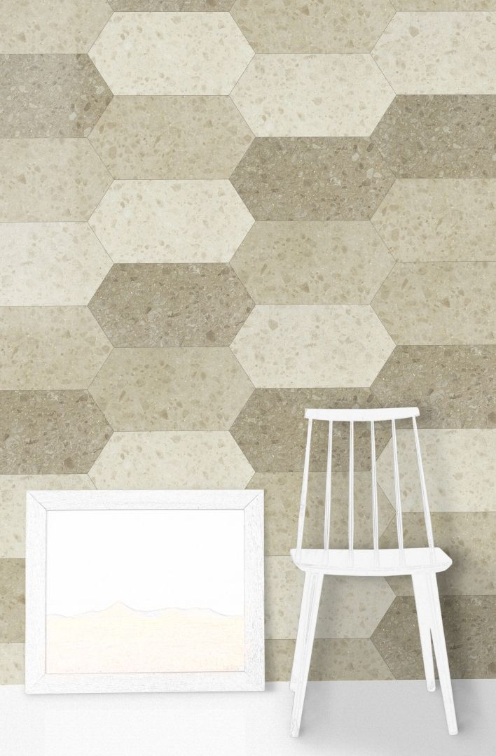 Hexagon Terrazzo Tiles