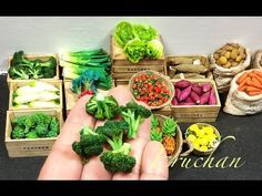 Brocoli miniatura . Miniature broccoli .ミニチュアーブロコリ - YouTube