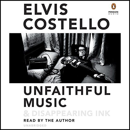 Unfaithful Music & Disappearing Ink:   Born Declan Patrick MacManus, Elvis Costello was raised in London and Liverpool, grandson of a trumpet player on the White Star Line and son of a jazz musician who became a successful radio dance band vocalist. Costello went into the family business and had taken the popular music world by storm before he was 24. /pCostello continues to add to one of the most intriguing and extensive songbooks of the day. His performances have taken him from a car...