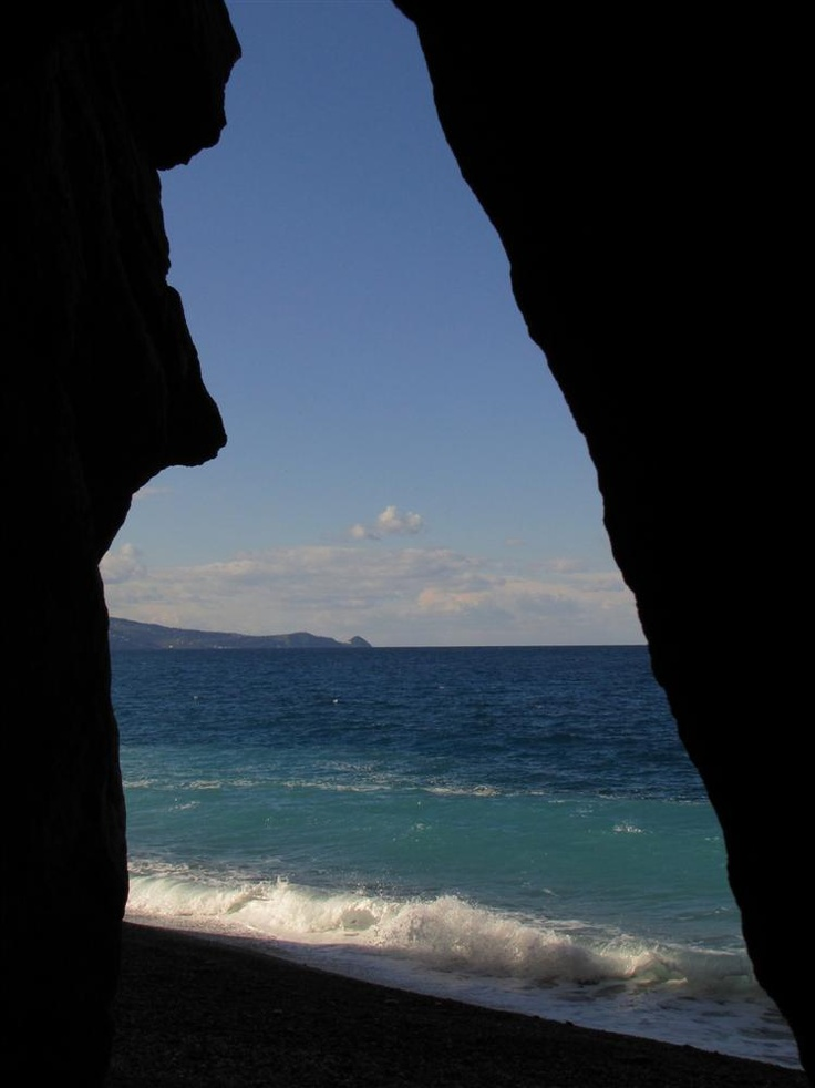 Capo Calavà, la grotta di Enea ( Gioiosa Marea, Sicily)