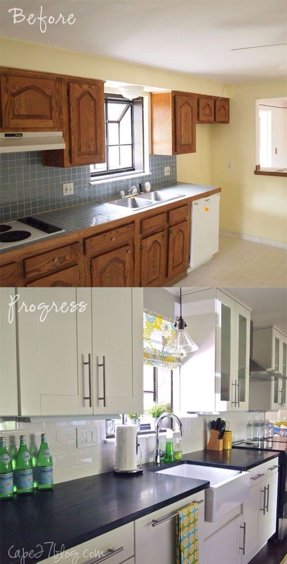Great DIY Budget Kitchen Reno The Big Reveal