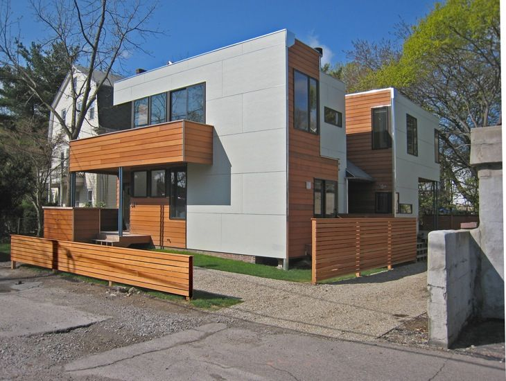 Exterior Paneling With Smooth Hardie Board Siding We Are Going To Reside Our Modern Looking