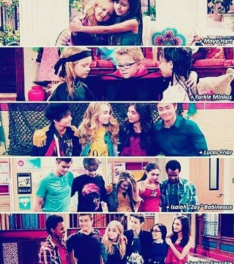 First was just Riley and Maya. Then was Riley, Maya and Farkle. Then Riley…