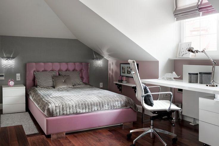 Pokój nastolatki - elegancki i nowoczesny - Architektura, wnętrza, technologia, design - HomeSquare