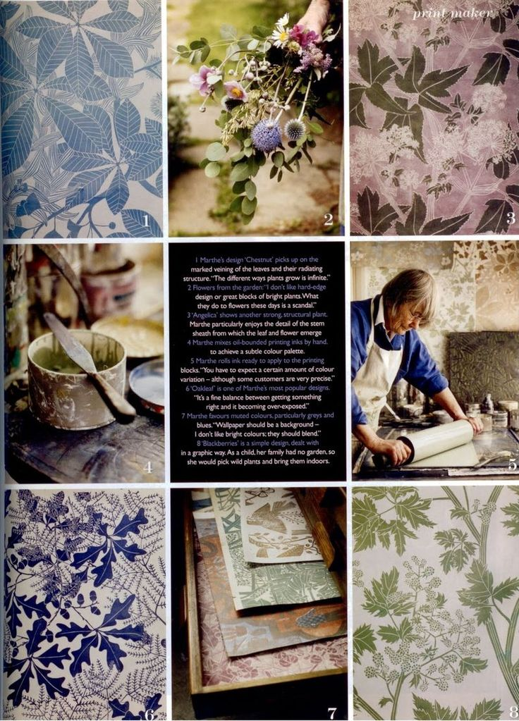 mastery...the wallpapers of Marthe Armitage