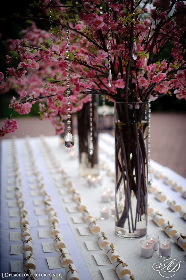 25 Best Ideas About Cherry Blossom Centerpiece On Pinterest