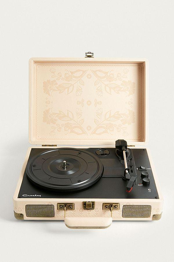 Crosley Bluetooth Plattenspieler Cruiser In Beige Crosley Cruiser Vinyl Record Player Beige