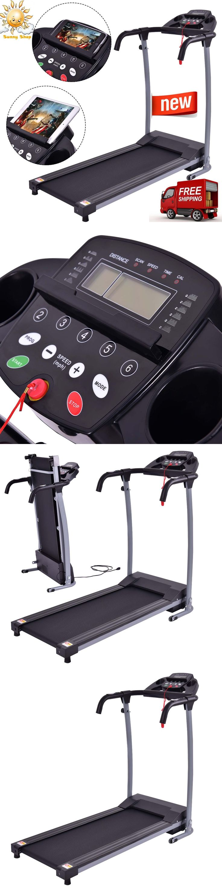 Treadmills 15280: 800W Folding Treadmill Electric Support Motorized Power Running Fitness Machine -> BUY IT NOW ONLY: $229.99 on eBay!