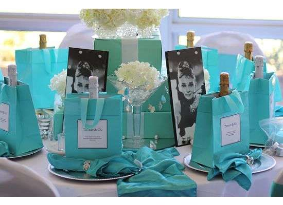 Breakfast at Tiffany's Fundraiser Party Ideas | Photo 3 of 10 | Catch My Party